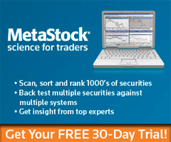 Get Your Metastock 30 Day Free Trial